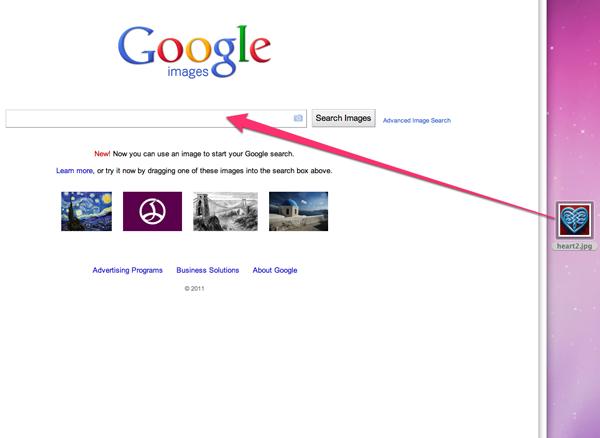 comment retrouver image google