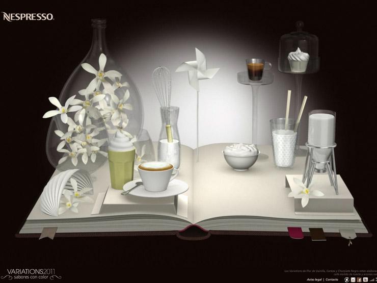 nespresso variations petit web. Black Bedroom Furniture Sets. Home Design Ideas