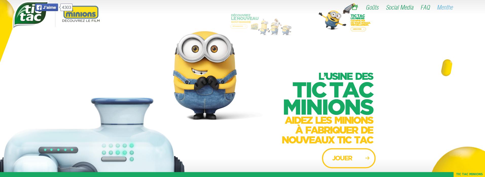 tic-tac minions 2