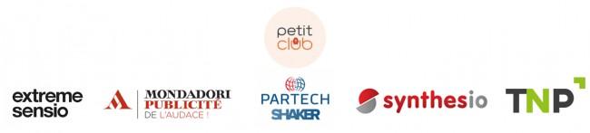 Logos partenaires + Petit Club