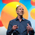 Tim Leberecht speaks at TEDSummit2016, June 26 - 30, 2016, Banff, Canada. Photo: Bret Hartman / TED